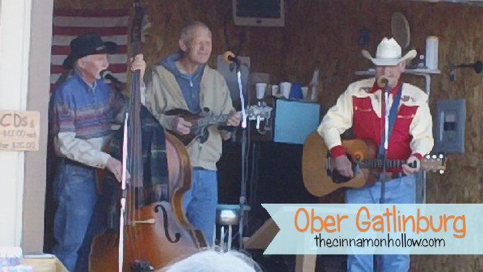 Bluegrass Band Ober Gatlinburg