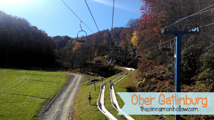 Chair Lift Alpine Slide Ober Gatlinburg