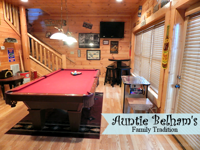 Family Tradition at Auntie Belham's Cabin Rentals