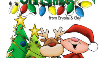 Merry Christmas From Crystal And Clay!