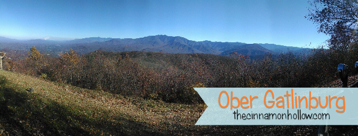 Panorama Ober Gatlinburg