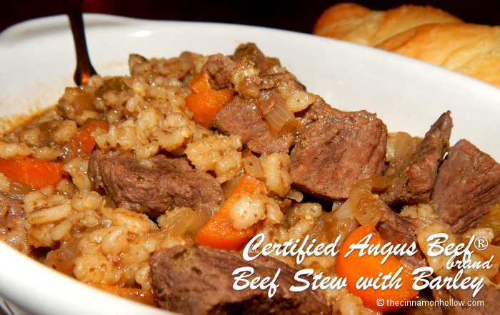 Certified Angus Beef Stew with Barley
