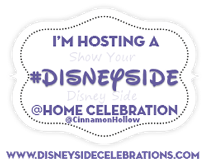 We're Hosting A Disney Side @Home Celebration! #DisneySide