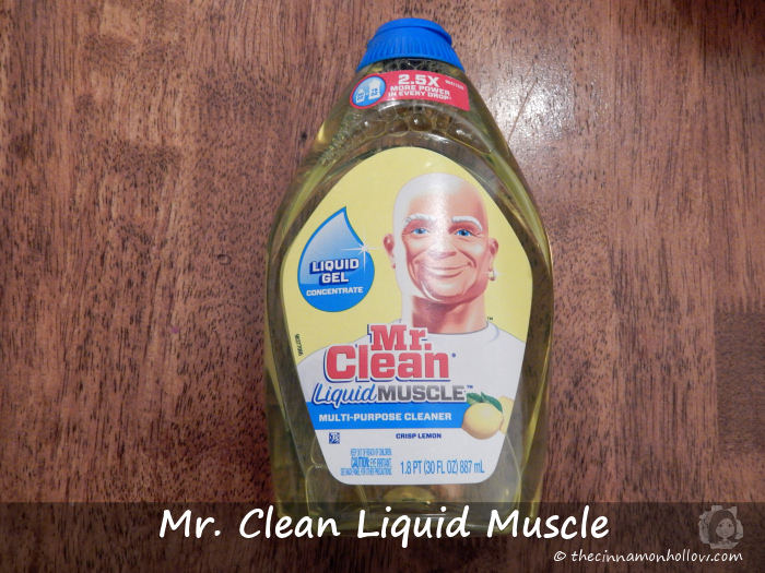 Mr. Clean Liquid Muscle Lemon Scent