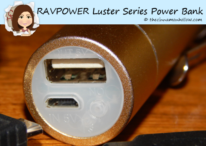 RAVPOWER Luster Series Power Bank USB Charge