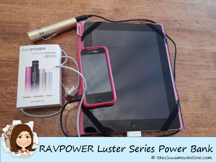 RAVPOWER Luster Series Power Bank USB Charger