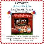 Red Baron Pizza Giveaway