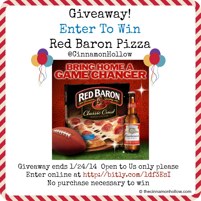 Save On Your Superbowl Party With Red Baron And Budweiser.