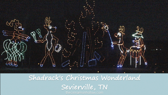 Shadrack's Christmas Wonderland in Sevierville, Tennessee
