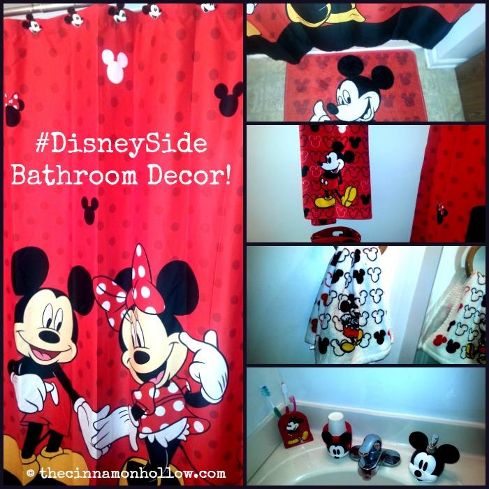 Disney Side Bathroom Collage