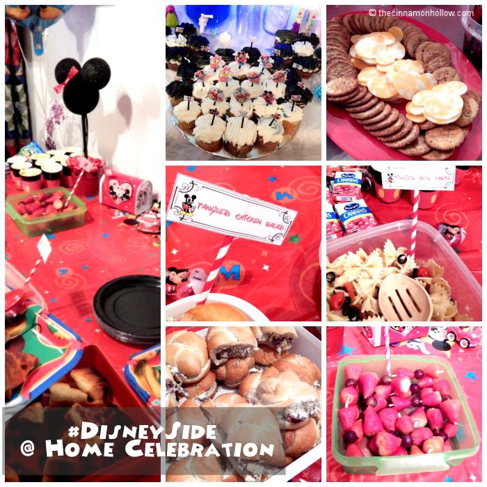 Disney Side  Food Collage
