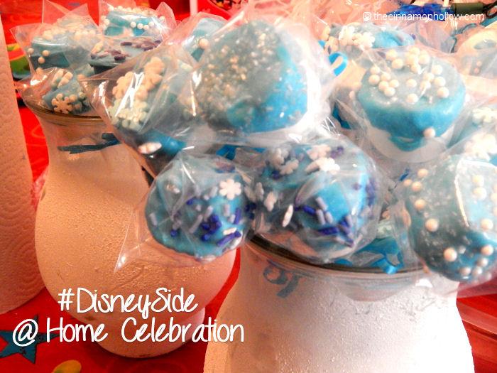 Frozen Marshmallow Pops Disney Side