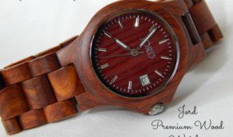 Jord Premium Wood Watch Ely Cherry