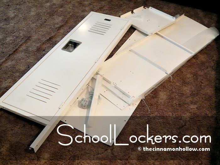 SchoolLockers.com Unassembled