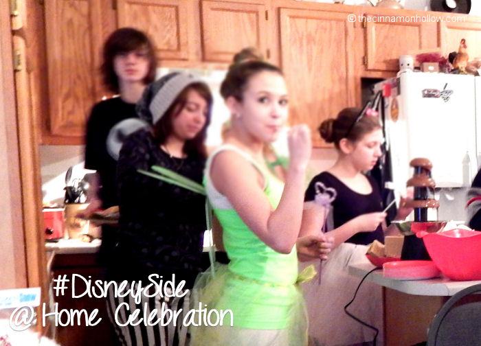 Teens and Chocolate Disney Side