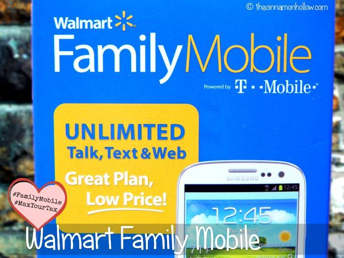 Walmart Family Mobile #FamilyMobile #MaxYourTax #cbias