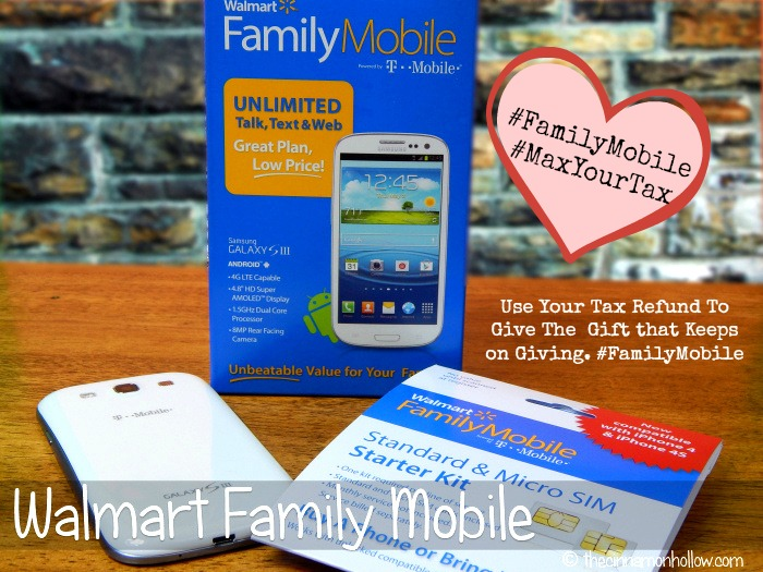 Valentine's Day Gift Idea: Walmart Family Mobile Unlimited Plans