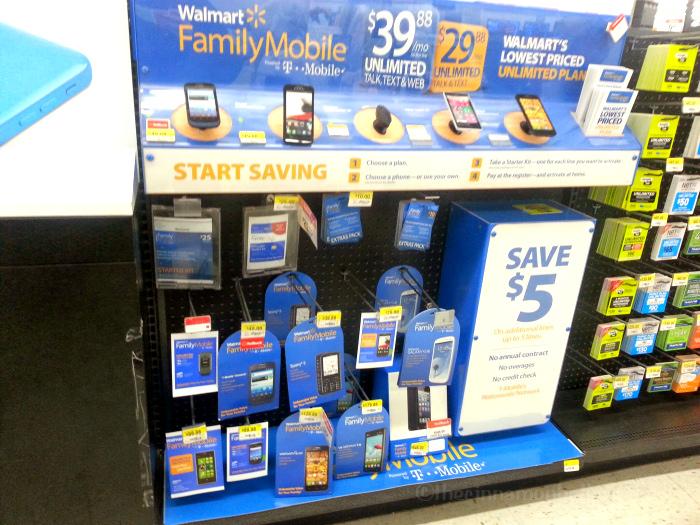 Walmart Family Mobile Aisle #FamilyMobile #MaxYourTax #cbias