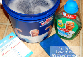 Mr Clean Liquid Muscle #MrCleanMorePower