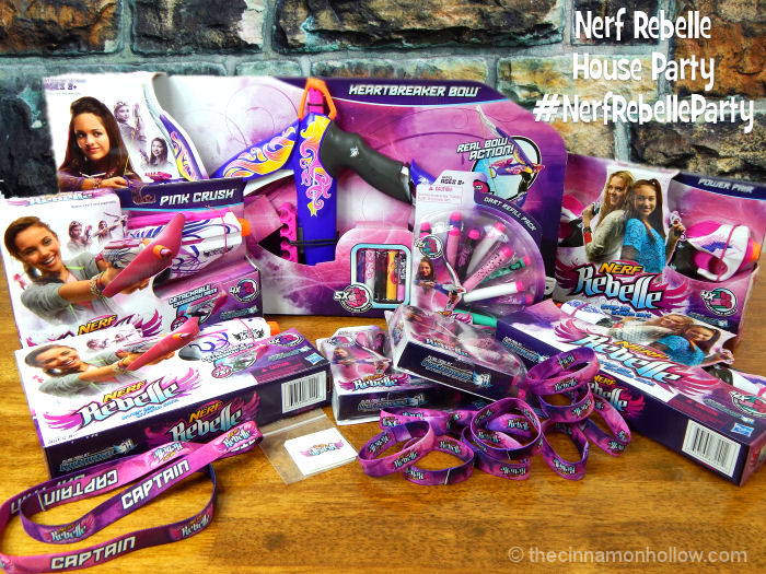 Our Nerf Rebelle House Party Pack Is Here! #NerfRebelleParty