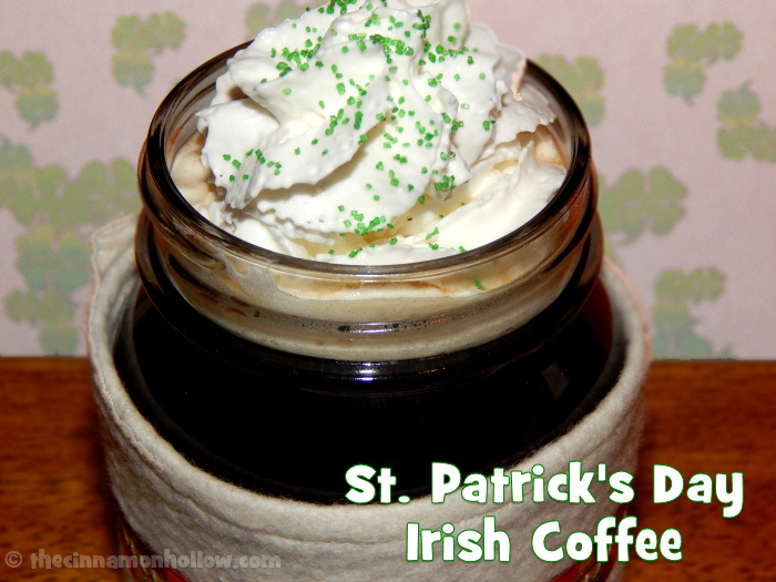 St. Patrick's Day Coffee Recipe Courtesy of KRUPS