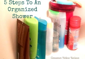 5 Steps To An Organized Shower