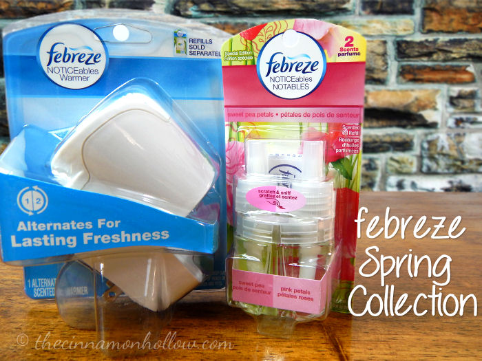 Febreze Spring Collection NOTICEables