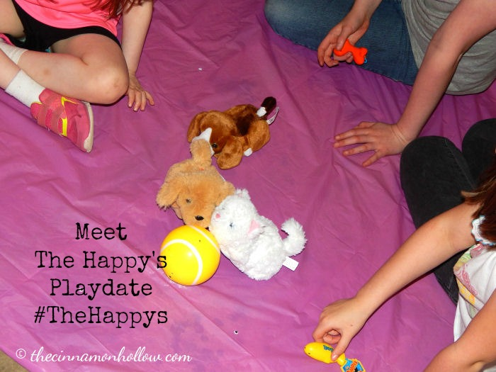 Meet The Happys Playdate Race