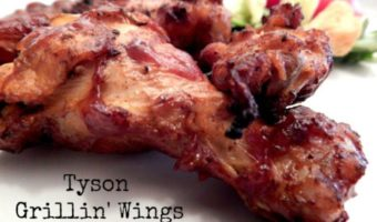 Tyson Grillin Wings With Bar-B-Que Sauce