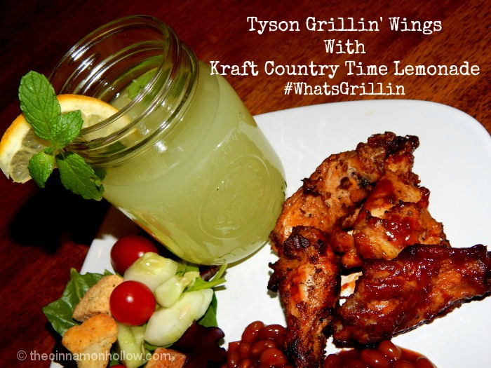 Tyson Grillin' Wings And Country Time Lemonade
