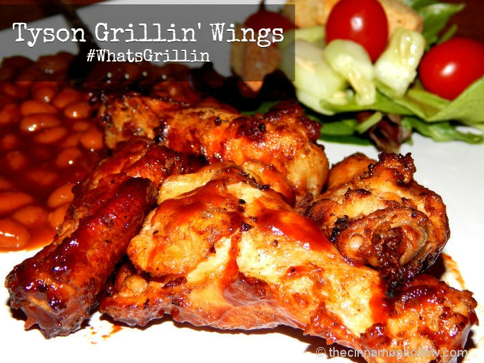Tyson Grillin' Wings Plated