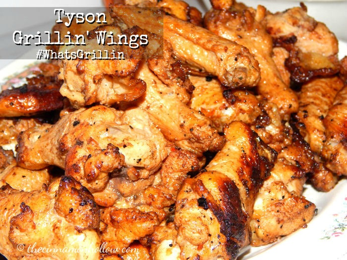 Tyson Grilling Wings Smokehouse Flavor