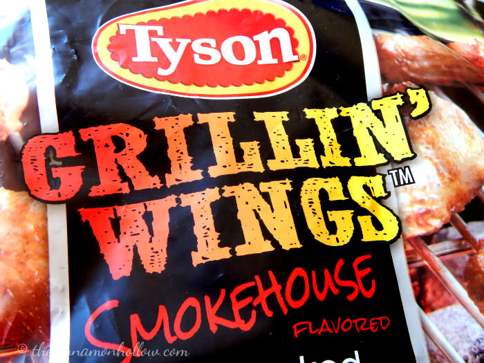 Tyson Smokehouse Flavored Grillin' Wings