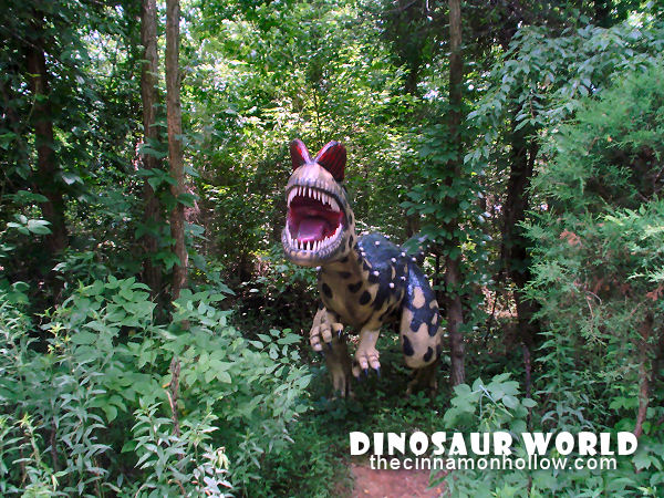 Dinosaur World In Cave City, KY