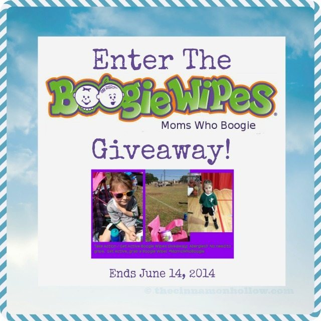 Get Active Boogie Wipes Giveaway Pinterest Image