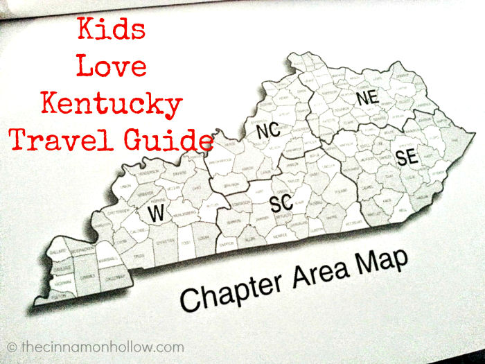 Kids Love Kentucky Chapter Area Map