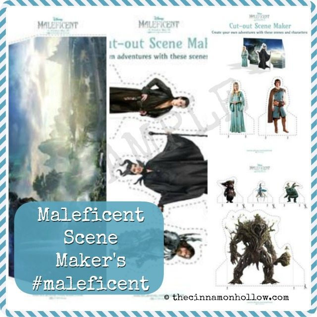 Maleficent Printables Scene Maker