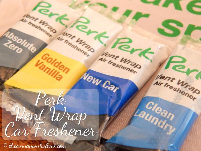 Perk Vent Wrap Car Freshener