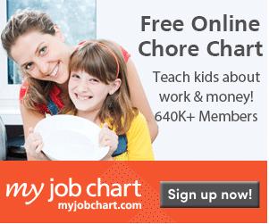 My Job Chart – FREE Online Chore Chart
