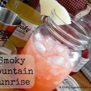 Moonshine Cocktail Recipes: Smoky Mountain Sunrise With Ole Smoky Moonshine