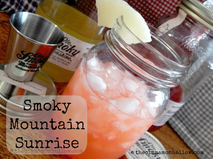 Moonshine Cocktail Recipes: Smoky Mountain Sunrise With Ole Smoky Tennessee Moonshine
