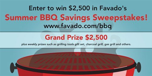 Favado – $2,500 BBQ Sweepstakes #BBQponing