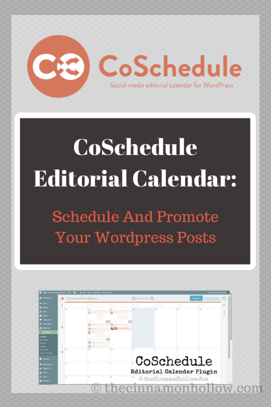 CoSchedule editorial Calendar And Social Media Scheduler