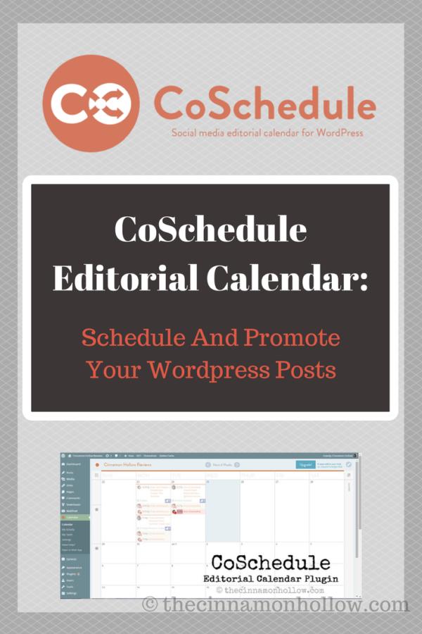CoSchedule editorial Calendar And Social Media Scheduler
