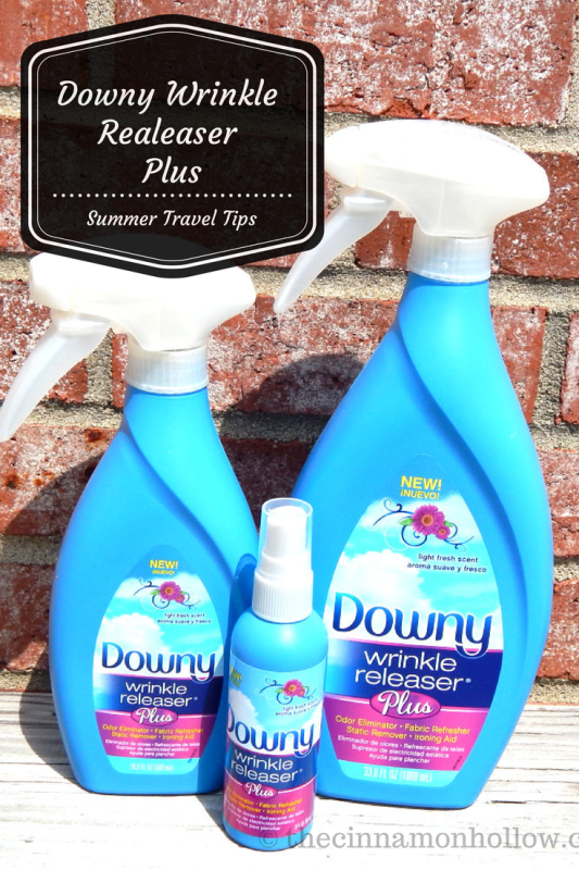 Downy Wrinkle Releaser Plus For Summer Travel #traveltips