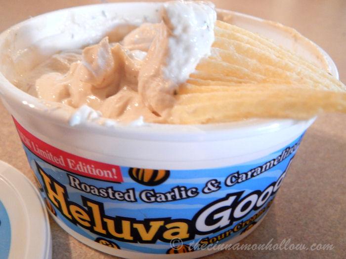 Heluva Good Roasted Garlic And Caramelized Onion Dip