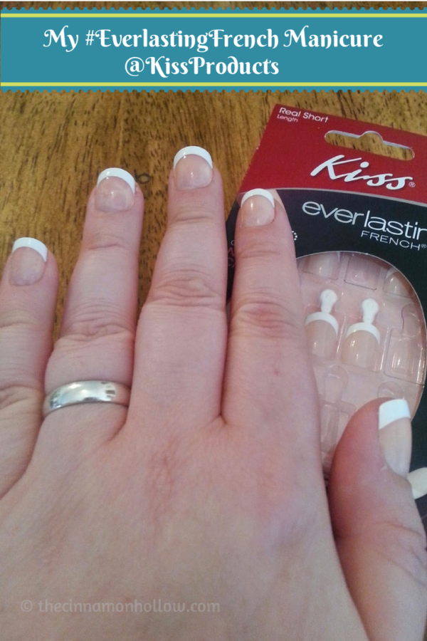 Kiss Everlasting French Nails #SpringVoxBox @InfluensterVox
