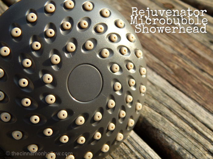 Rejuvenator Microbubble Showerhead