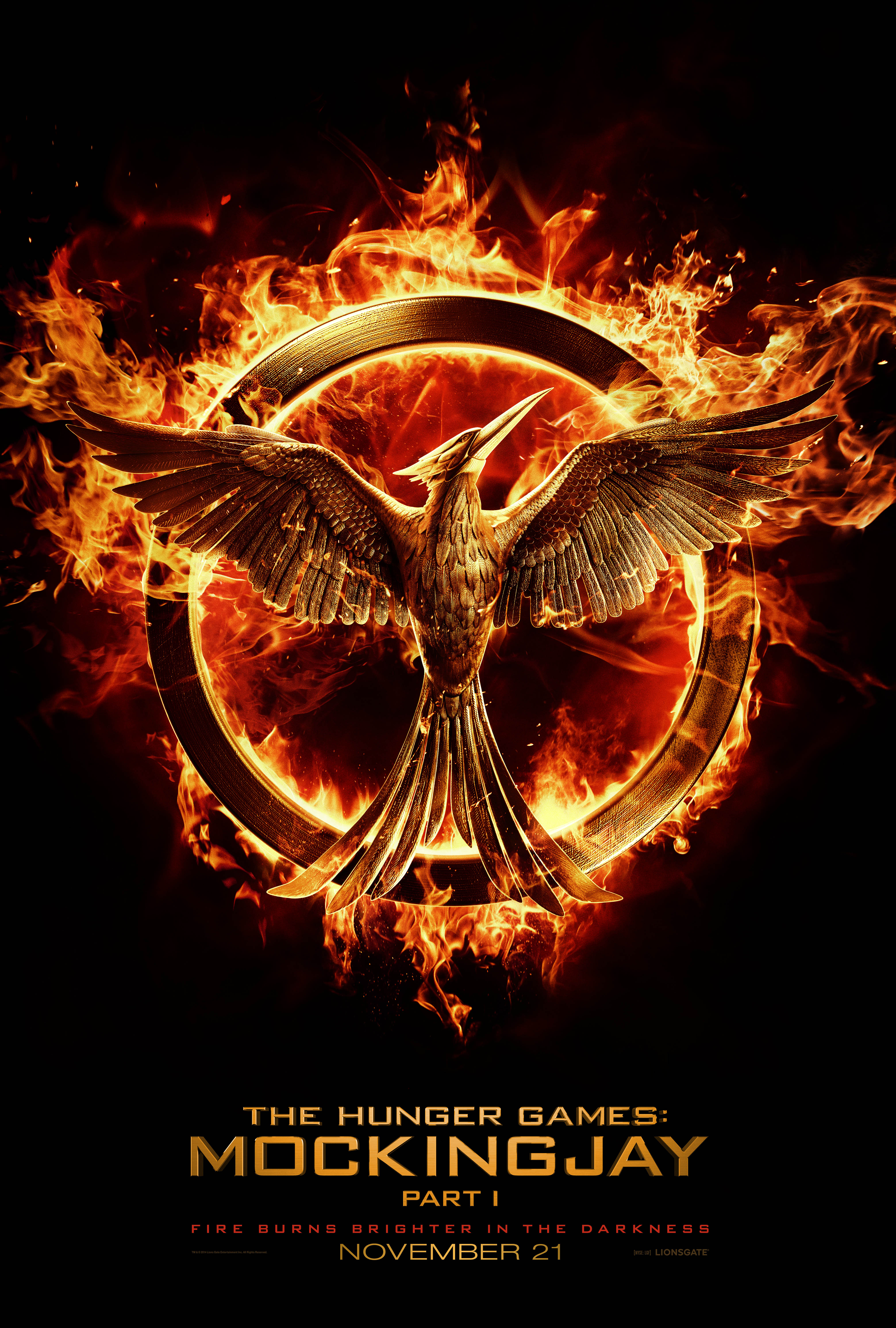 THE HUNGER GAMES MOCKINGJAY PART 1
