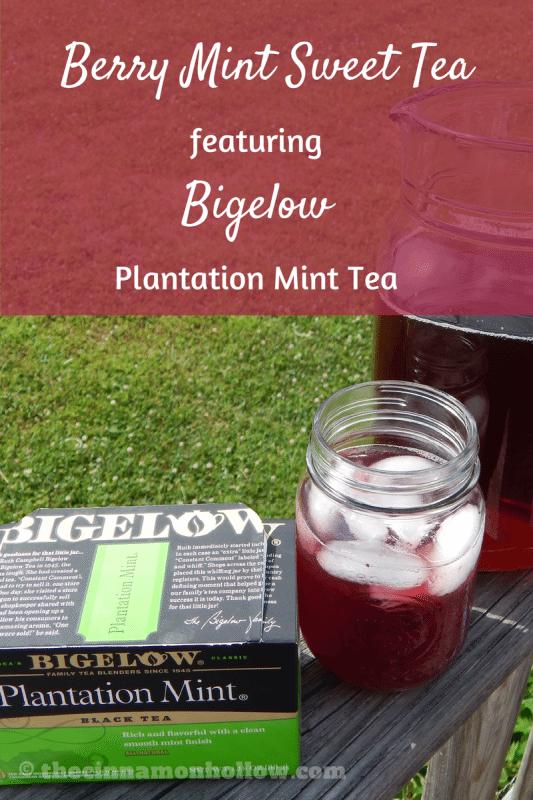 Berry Mint Sweet Tea With Bigelow Tea